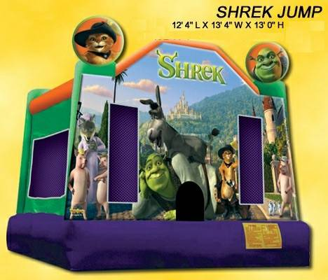 Shrek Jumper, Shrek Bouncer, Shrek Bounce House, Shrek   Inflatable, Shrek Bounce House, Shrek Moonwalk